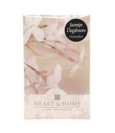 Jasmijn Dagdroom Heart & Home Geurzakje