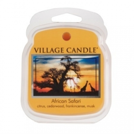 African Safari Village Candle   1 Wax Melt blokje