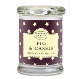 Wild Fig & Cassis  mini geurkaars The Country Candle 20 geururen