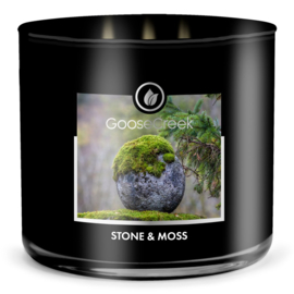 Stone & Moss Goose Creek Candle  Soy Blend   3 Wick Tumbler