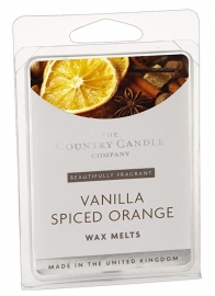 Vanilla Spiced Orange The Country Candle Company Waxmelt