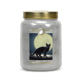 Black Cat Goose Creek Halloween  Candle