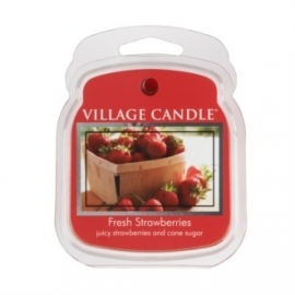 Fresh Strawberries  Village Candle 1 Wax Meltblokje