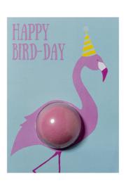Happy Bird-Day Blaster Card