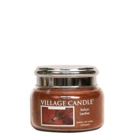 Italian Leather  Village Candle  Jar Small  55 Branduren