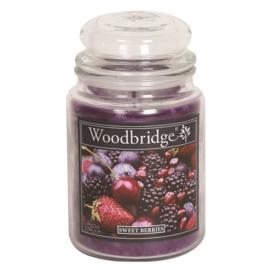 Sweet Berries Woodbridge Apothecary Scented Jar  130 geururen