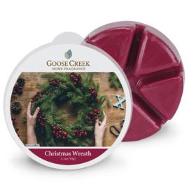 Christmas Wreath Goose Creek  1 Waxmelt blokje