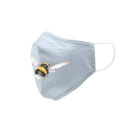 Wrendale Designs Mondkapje Hommel Flight of the Bumblebee