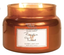 Pumpkin Tweed  Village Candle  Jar Small  55 Branduren