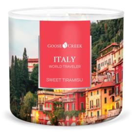 Sweet Tiramisu  Goose Creek Candle® Italy World Traveler 3 Wick