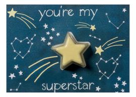 Superstar Blaster Card