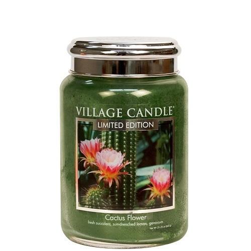 Cactus Flower Village Candle Large Jar 170 Branduren