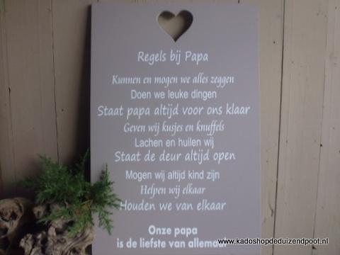 regels bij papa