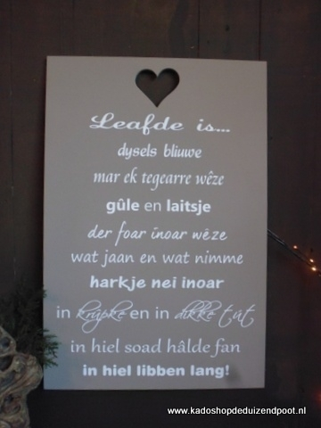 Fries Liefde is