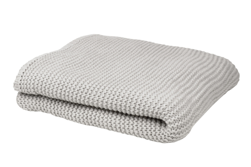 Leeff Plaid Pien 130 x 170 Grey