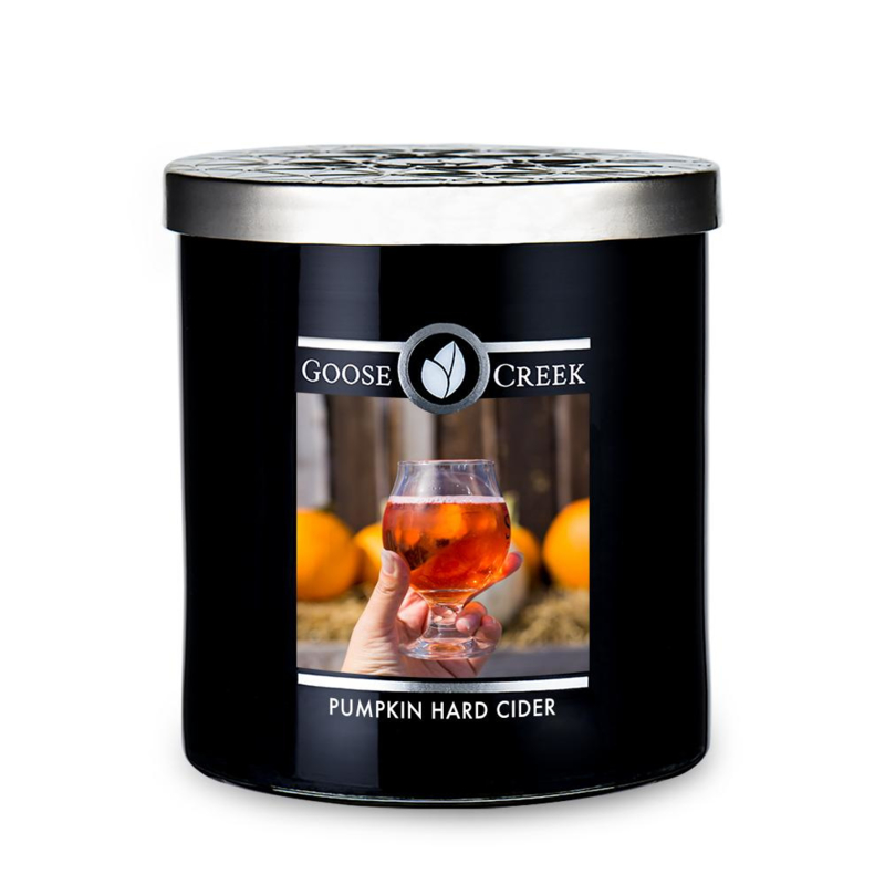 Pumpkin Hard Cider  Goose Creek Candle Soy Wax Blend 50 branduren
