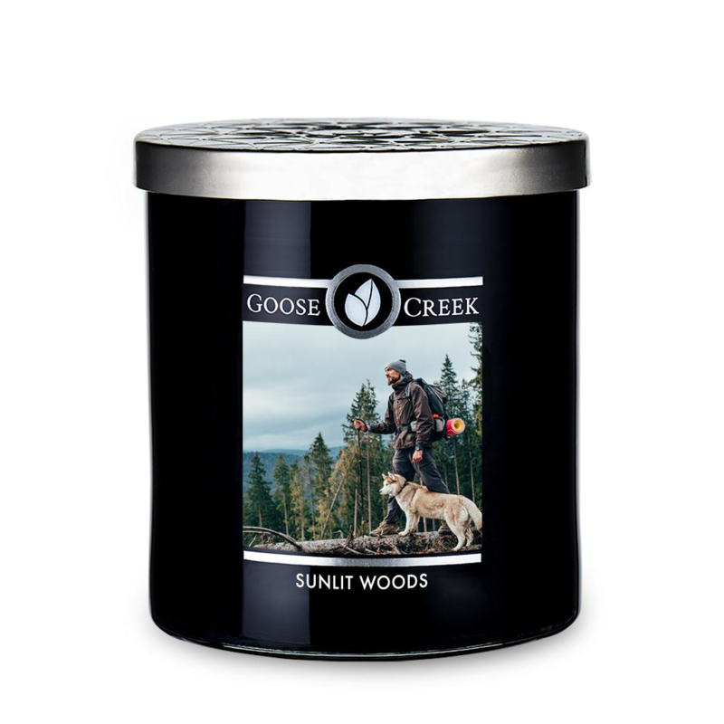 Sunlit Woods Goose Creek Candle Soy Wax Blend 50 branduren