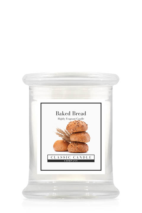 Baked Bread  Classic Candle Midi Jar