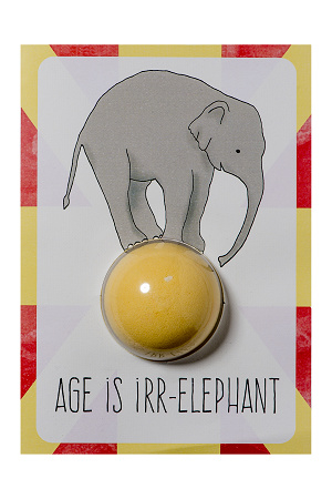 Age is Irr-elephant Blaster Card