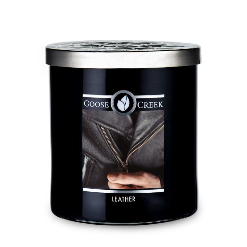 Leather Goose Creek Candle Soy Wax Blend 50 branduren