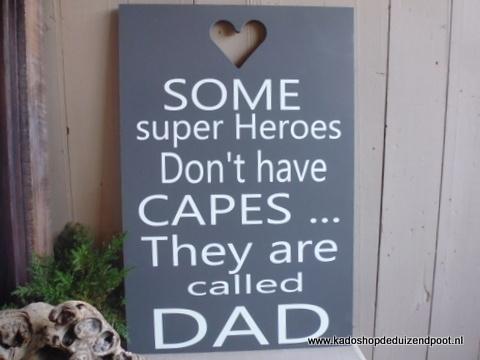 Dad  tekstbord