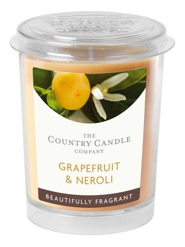 Grapefruit & Neroli Country Candle votive geurkaars 20 branduren