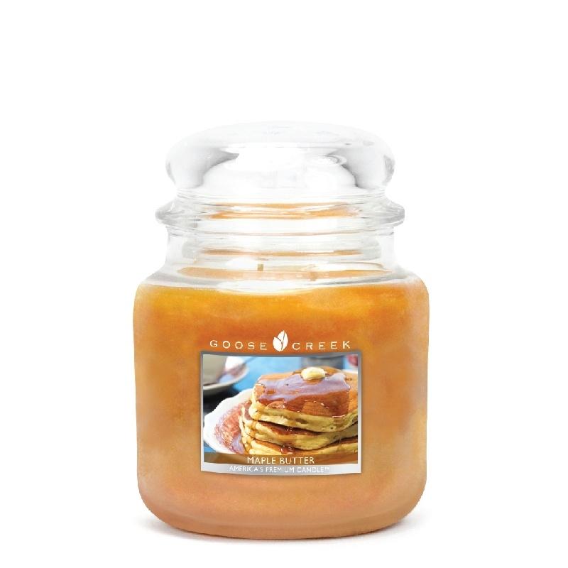 Maple Butter  Goose Creek Candle Medium  90 Branduren