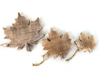 Hanger blad  15 cm naturel