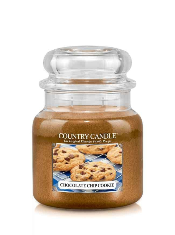 Chocolate Chip Cookie Country Candle Medium  Jar