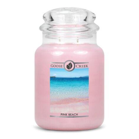 Pink Beach Goose Creek Candle Large Jar 150 Branduren