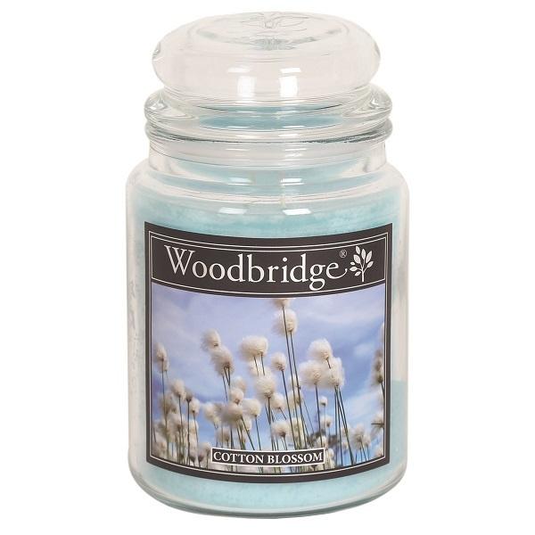 Cotton Blossom Woodbridge Apothecary Scented Jar  130 geururen