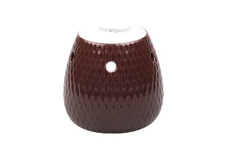 Geurbrander Vase Tear Bordeaux