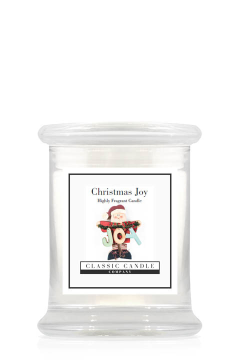 Christmas Joy  Classic Candle  Midi Jar