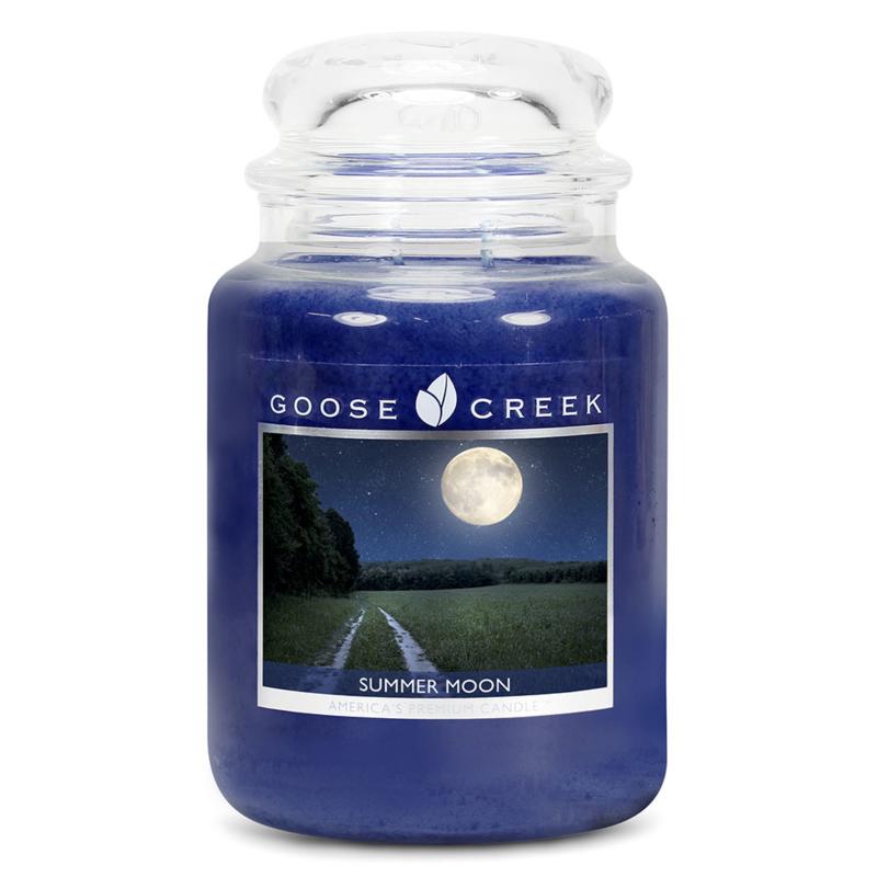 Summer Moon Goose Creek Geurkaars 150 Branduren