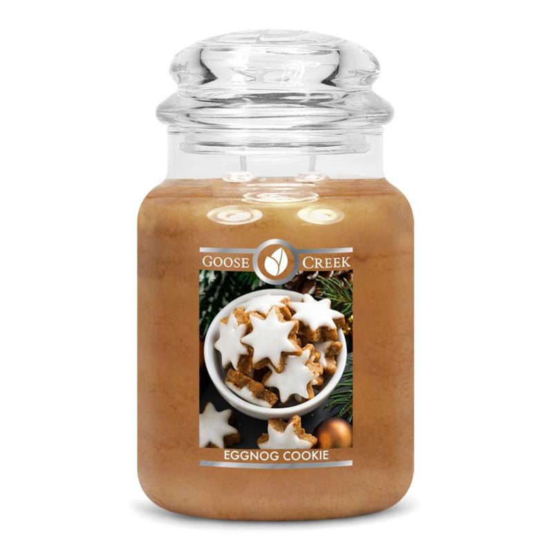 Egg Nog Icing Goose Creek Candle  150 Branduren