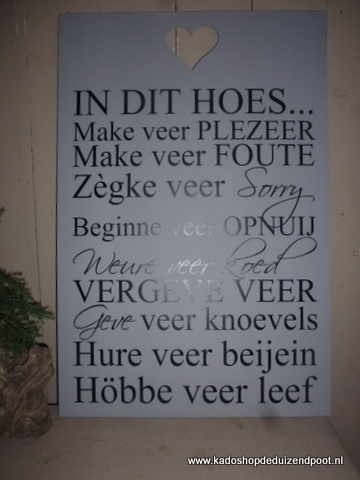 Maastrichts Dialect Tekstbord