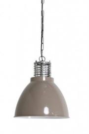 Hanglamp industriële lamp L  Epoxy grijs  (44cm)