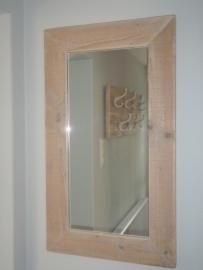 Spiegel steigerhout 50x50cm