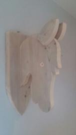 Paardenhoofd steigerhout