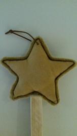 Suede ster (groot)