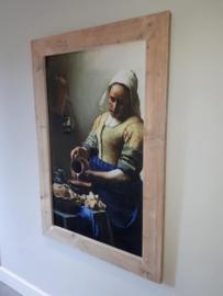 Het melkmeisje van Johannes Vermeer (81x121cm)
