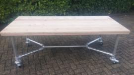 Tafel Y-frame op wielen