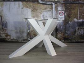 Industrieel tafelonderstel Matrix Zwaar WIT