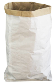 Paper bag white Small