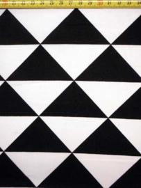 zwart wit triangel