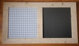 Krijt- prikbord 50x95cm