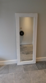 Spiegel 70x165cm white wash