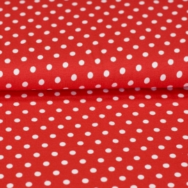 rood witte stip 0,7 cm