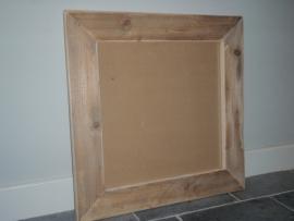 Fotolijst steigerhout 70x70cm