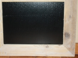 Magneetbord 50x95 cm (ZWART of WIT)